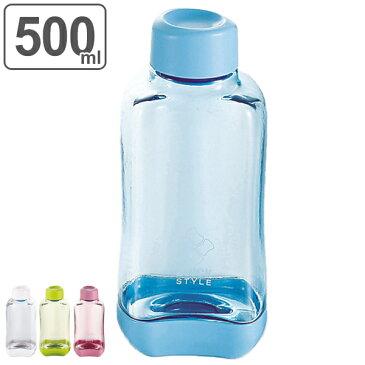 水筒 ブロックスタイル アクアボトル 500ml ウォーターボトル BPAフリー ( プラスチック製 スポーツボトル 直飲み ダイレクトボトル 目盛付き BPAFREE 1L 1リットル すいとう )【5000円以上送料無料】