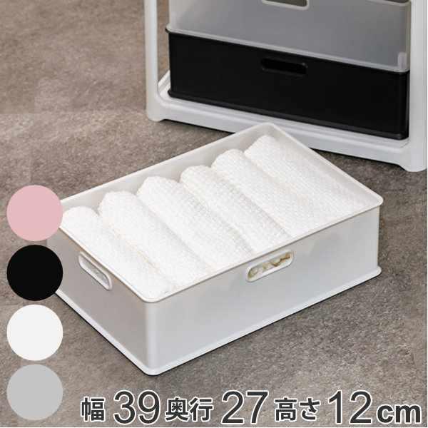 収納ボックス 収納ケース ナチュラ インボックス M プラスチック 日本製 ( 小物入れ 収納 カラーボックス インナーボックス おもちゃ箱 コンテナ 積み重ね スタッキング 小物収納 インナーケース ケース ボックス )【39ショップ】