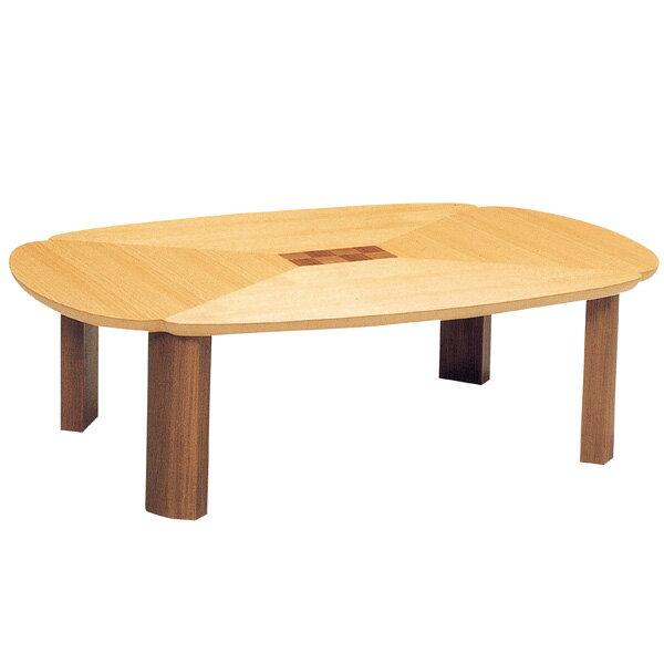 座卓 折れ脚 ローテーブル 木製 グレコ  幅120cm ( 送料無料 テーブル 折りたたみ ちゃぶ台 ナラ ウォールナット 突板仕上げ 日本製 和室 和 和モダン ) 【39ショップ】