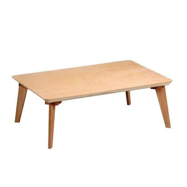 座卓 ローテーブル 木製 樺桜 幅80cm角 ( 送料無料 桜 突板仕上げ 日本製 ちゃぶ台 テーブル 和室 和 ナチュラル シンプル 木目 ) 【39ショップ】