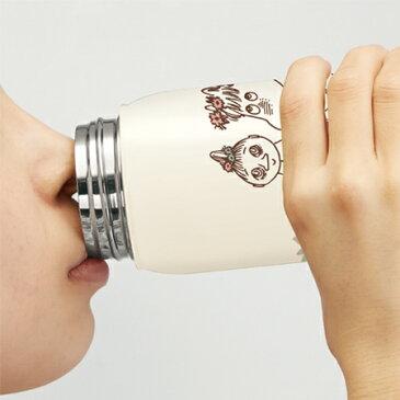 ステンレスマグボトル ムーミン お花畑 350ml ( ステンレスボトル 保温 保冷 マグボトル すいとう スープボトル ) 【5000円以上送料無料】