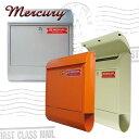 ■在庫限り・入荷なし■Mercury ポスト Mail Box( 郵便ポスト ) シルバー・オレンジ・アイボリー 【5000円以上送料無料】