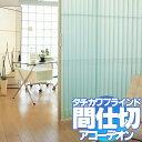 間仕切 アコーデオンカーテン ドア クールモダン(グラスNo.6104...