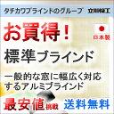 ブラインド ヨコ型ブラインド お買得アルミブラインド FIRSTAGE 標準タイプ(ネジ留め)