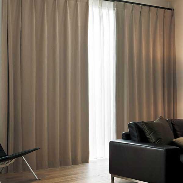カーテン シェード 川島織物セルコン 遮光 FT6584 スタンダード縫製 約2倍ヒダ