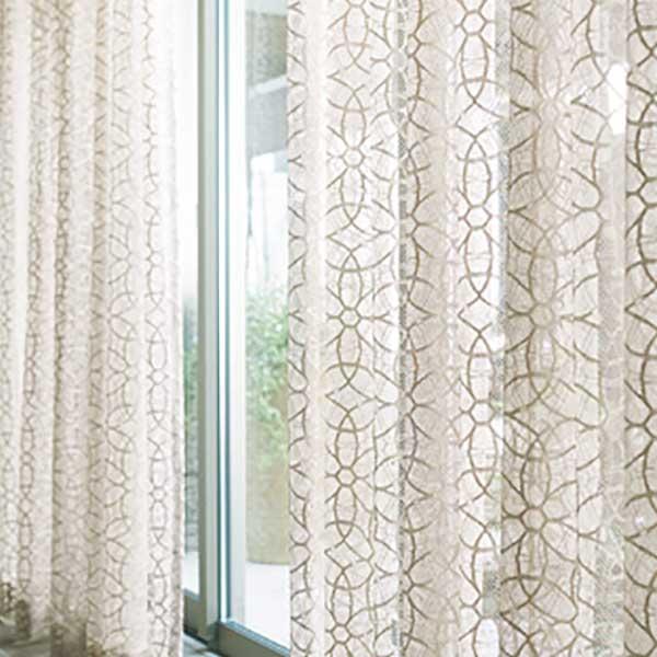 カーテン シェード 川島織物セルコン TRANSPARENCE FT6660〜6661 スタンダード縫製 約2倍ヒダ