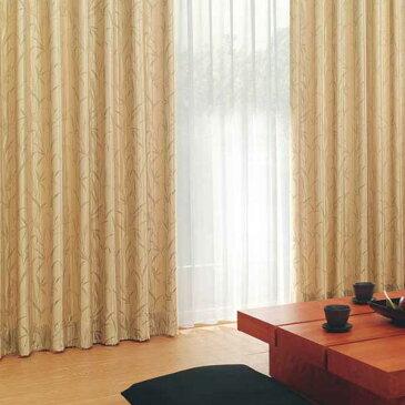 カーテン 激安 東リ オーダーカーテン&シェード elure 和風 KSA60172スタンダード縫製 約1.5倍ヒダ 2ツ山仕様 (税別価格) タッセル含む