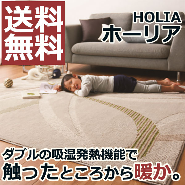 ラグ マット 敷物 リビング ダイニング キッチン 玄関 寝室 アクセントに HOLIA ホーリア (200×250):インテリアカタオカ