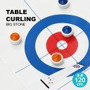 【送料無料_a】テーブルカーリング ゲーム ビッグストーン 玩具 おもちゃファミリーゲーム テーブルゲーム スポーツトイ