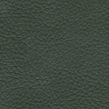 【送料無料】高級座椅子本革張(一部合成皮革)グリーン