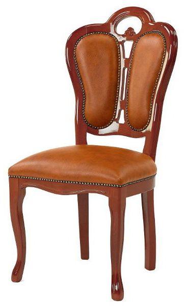 サルタレッリ フローレンス ダイニングチェア  木製 ウォールナット 合成皮革 チェア SFLI-522-BR2 椅子 家具 輸入家具 イタリア家具 SFLI522-BR2 SFLI-522BR2 いす イス:インテリア西岡(輸入家具&雑貨)