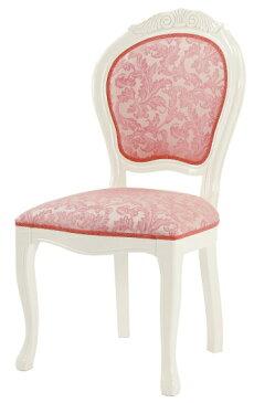 サルタレッリ アマルフィ ダイニングチェア 【送料無料】 木製 布張り チェア SAMI-618-IVP 椅子 家具 輸入家具 イタリア家具 SAMI-618IVP SAMI618-IVP いす イス 姫系 白家具