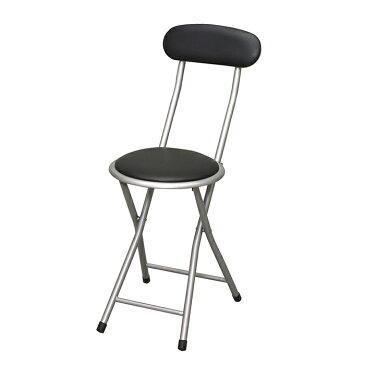 カウンターチェア 折りたたみ 背もたれ付き ホームチェア 椅子