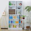 本棚|スライド|木製|シンプル|OP-180|送料無料|スライド式