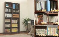 本棚/スライド/スライド式/書棚/スライド式書棚/送料無料/書架/画像3