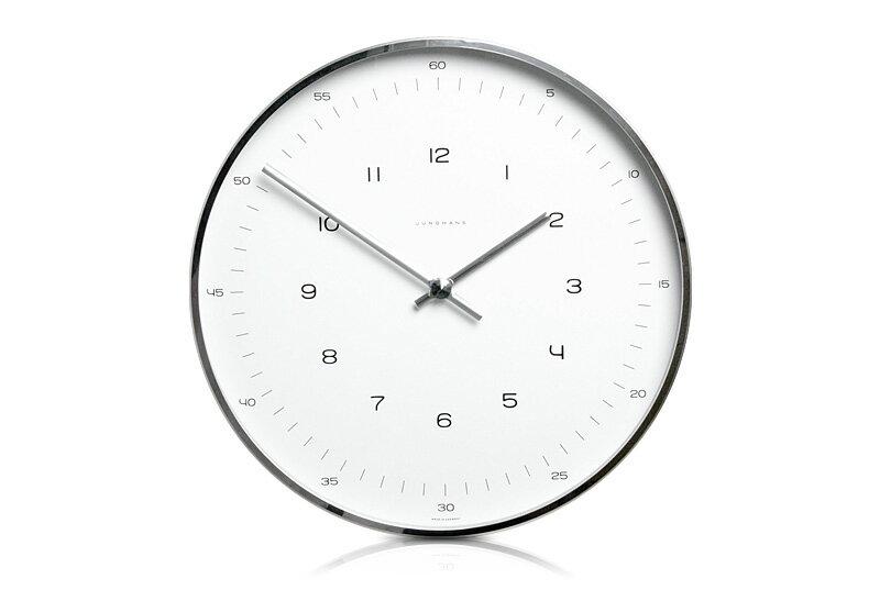【送料無料!】Junghans / Max Bill / Wall Clock Number Dial / 1957 Φ300mmユンハンス マックス・ビル ウォールクロック ナンバーダイヤル 1957 Φ300mmMBL-03-0002(367 6047 00)【掛時計 壁掛け時計 ドイツ GERMANY】:AKI interior space