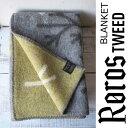 送料無料!ROROS TWEED / ロロス ツイード ブランケットNEL BOSCO GRAY-YELLOW by AOI HUBER-KONO / ネル ヴォスコ 色:グレーイエ…