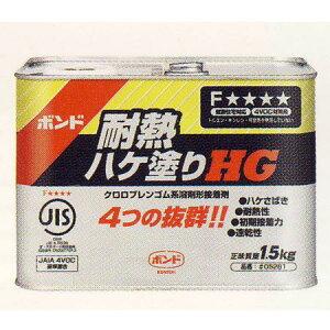 コニシ建具用接着剤速乾ボンド、耐熱ハケHG