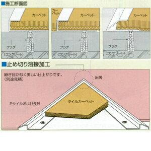 アシストカーペット目地ステンレス製No.20-305穴有4m