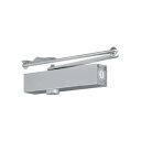 日本ドアチェック製造 ニュースター ドアクローザ パラレル型 ストップ付 PS-7002A 段付ブラケット シルバー/バーントアンバー