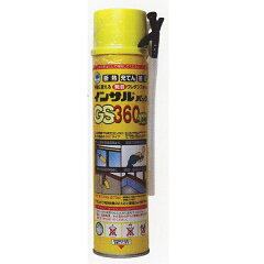 発泡ウレタン、断熱ABC商会 インサルパック 発泡ウレタン GS360ロング 570g 1本