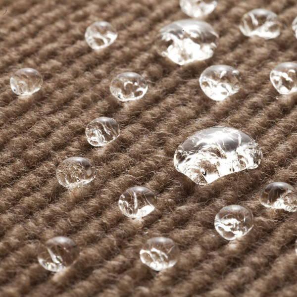 サンコー おくだけ吸着 ペット用床保護マット ブラウン KM-54 60×120cm 約4mm厚