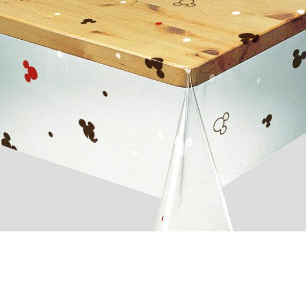 予約入荷次第明和グラビアロール物キャラクターテーブルクロスミッキー・シンプルスタイルブラウン120cm幅×20m巻170070