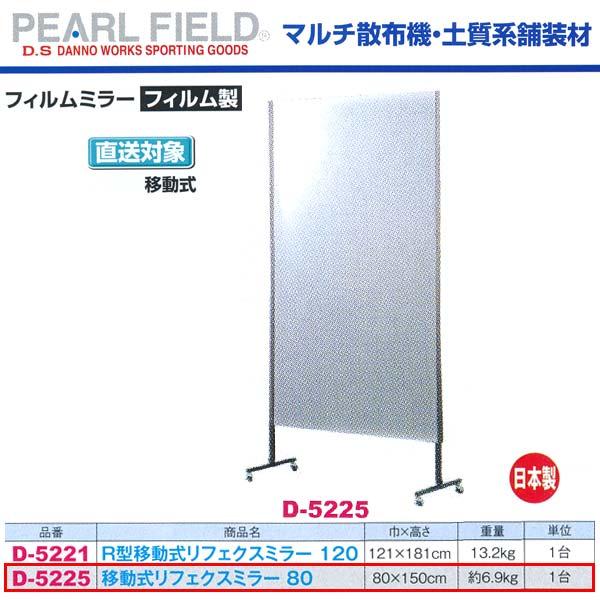 ダンノ 移動式 リフェクスミラー 80 D-5225 フィルム製 巾80×高さ150cm:イーヅカ