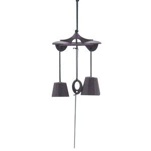 Nanbu Ikenaga 10 Wind Bell Duo 10.5 × 8 × H14.5cm 118149