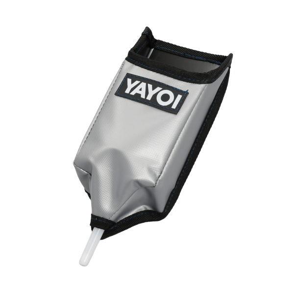 ヤヨイ化学コークポケット(逆さ式)シルバー巾100×高240×奥行80mm354-029