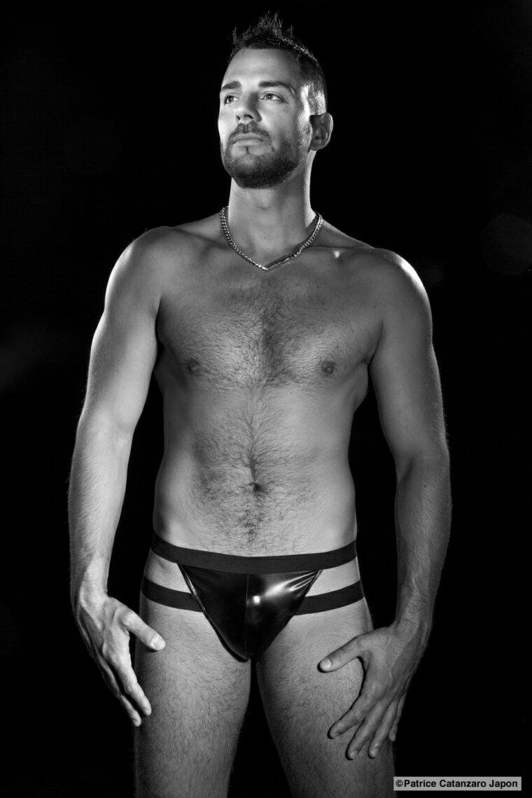 「パトリス・カタンザロ」 DAMON フランスのフェティッシュ系ファッション 【メンズ1】 ストリング