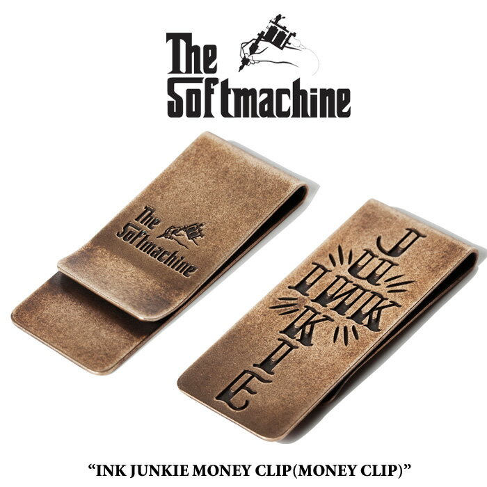 SOFTMACHINE(ソフトマシーン)INK JUNKIE MONEY CLIP【先行予約】【キャンセル不可】【マネークリップ】