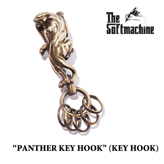 SOFTMACHINE(ソフトマシーン)PANTHER KEY HOOK(KEY HOOK)【2017SUMMER VACATION】...