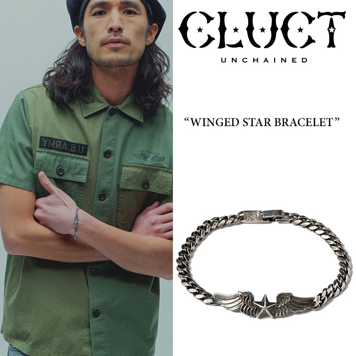 CLUCT(クラクト)WINGED STAR BRACELET【2017SUMMER新作】【即発送可能】【CLUCT ブ...