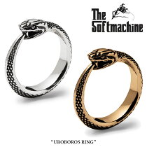 SOFTMACHINE(ソフトマシーン)UROBOROS RING【リング シルバー】【送料無料】