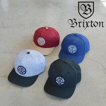 BRIXTON(ブリクストン)CREST C MP SNAPBACK【キャップ 帽子】【2021 SPRING新作】