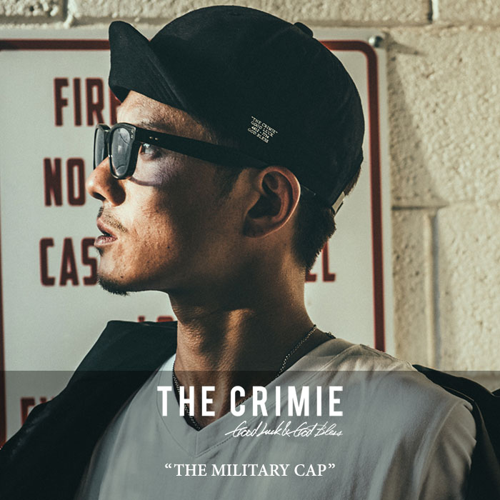 CRIMIE(クライミー)THE MILITARY CAP【2018SPRING/SUMMER新作】【即発送可能】【C1...