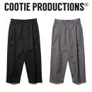 COOTIE (クーティー)  Raza 1 Tuck Trousers 【タ ...