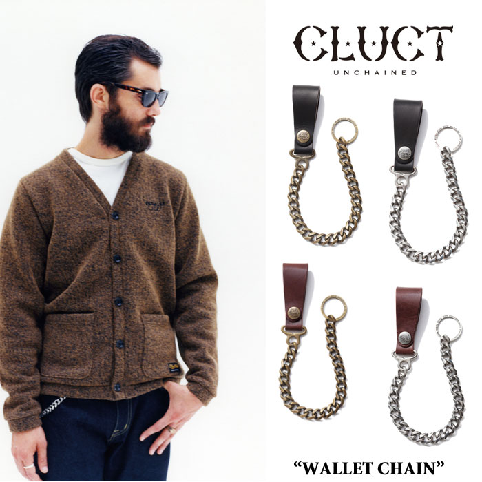 CLUCT(クラクト)WALLET CHAIN【2017SUMMER新作】【送料無料】【即発送可能】【CLUC...