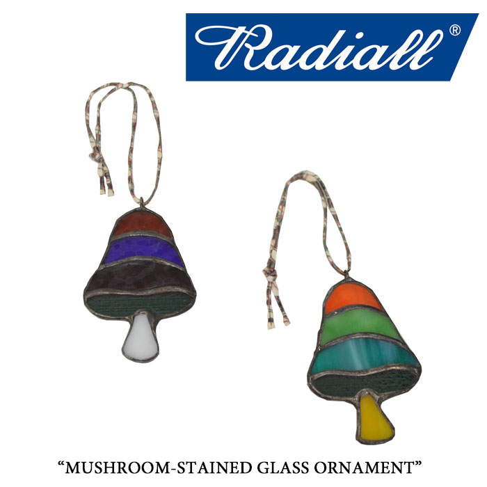 RADIALL(ラディアル)MUSHROOM-STAINED GLASS ORNAMENT【2017AUTUMN/WINTER新作】【...