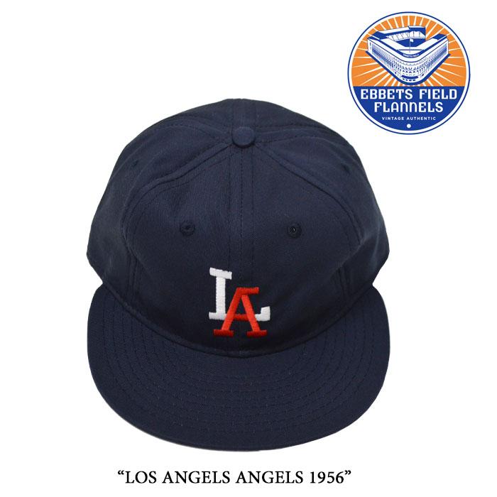 EBBETS FIELD FLANNELS(エベッツフィールドフランネルズ)LOS ANGELS ANGELS 1956【...