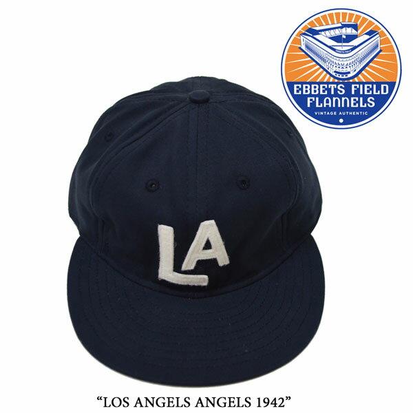 EBBETS FIELD FLANNELS(エベッツフィールドフランネルズ)LOS ANGELS ANGELS 1942【...