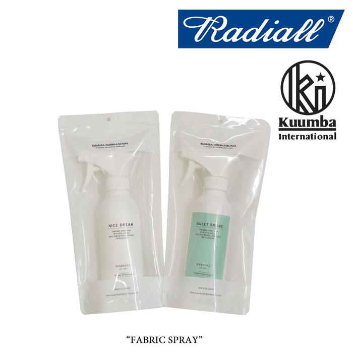 RADIALL(ラディアル)FABRIC SPRAY(ファブリックスプレー)【2018 SPRING&SUMMER】【RADIALL ファブリックスプレー】【RAD-KMB007】【RAD-KMB008】【RADIALL 正規取り扱い店】