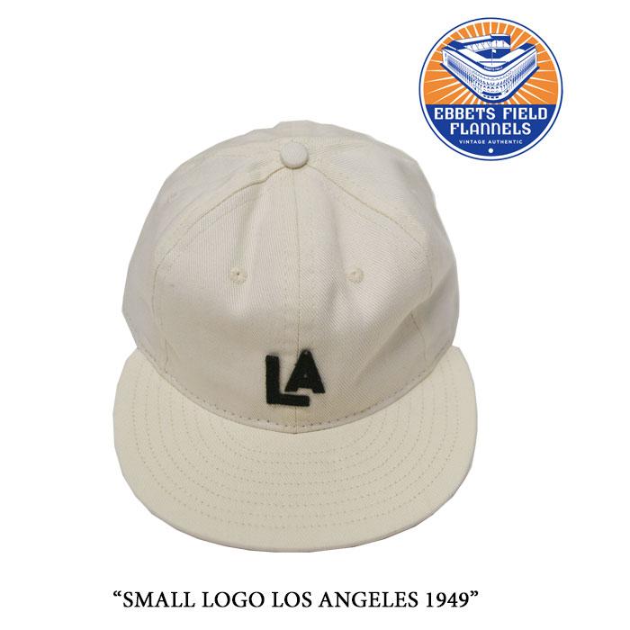 EBBETS FIELD FLANNELS(エベッツフィールドフランネルズ)SMALL LOGO LOS ANGELES 1...
