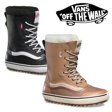 【VANS(バンズ)】STANDARD SNOW BOOTS【2018新作】【送料無料】【即発送可能】【スノーブーツ】【ブーツ】【VN0A3TFMNWH】【VN0A3TFMY28】