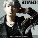 ZEPHYREN(ゼファレン)METAL NECKLACE -FEATHER-【2020 SPRING&SUMMER 先行予約】【キャンセル不可】【Z17UW04】