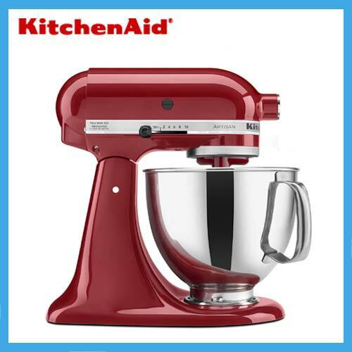 KitchenAid ミキサー エンパイヤレッド KSM150PSER 並行輸入品:インタープライム