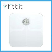 Fitbit フィットビット Aria Wi-Fi Smart Scale 多機能体重計 White