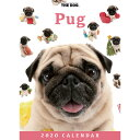 【メール便可】THE DOG 2020年 卓上カレンダー パグ[犬/ドッグ/ペット/calendar/令和/デスク]