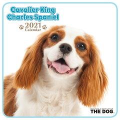 THE DOG 2021年 ミニカレンダー キャバリアキングチャールズスパニエル[犬/ドッグ/ペット/calendar/令和/壁掛け][interzoo clinicclub]